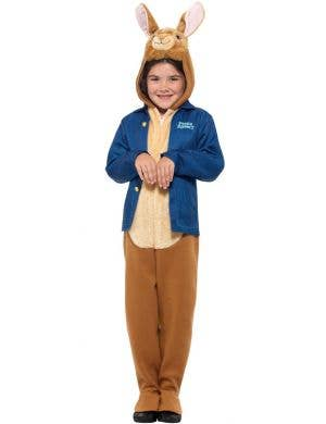 Peter Rabbit Kid's Officially Licensed Deluxe Jumpsuit Costume
