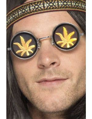 Sweet Leaf Adult's 1970's Hippie Glasses Costume Accessory