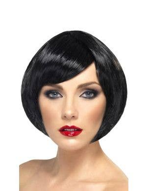 Babe Short Black Bob Women's Costume Wig