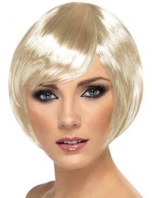 Babe Blonde Women's Bob Costume Wig