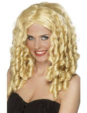 Film Star Ringlet Blonde Wig