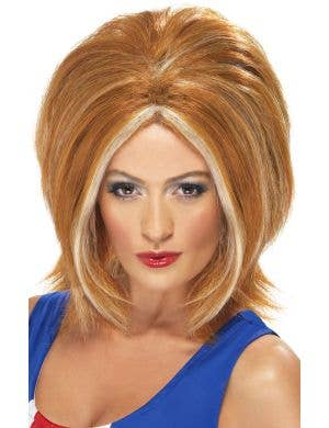 Spice Girls Ginger Spice Costume Wig