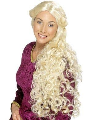 Guinevere Long Blonde Wig
