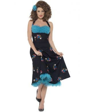Women's Grease Cha Cha DiGregorio Costume Image 1
