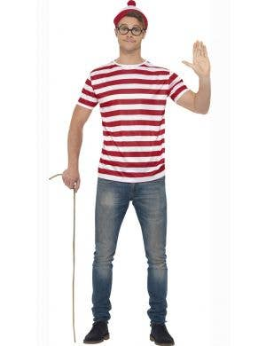 Wheres Wally Teacher's Book Week Costume Kit Front View
