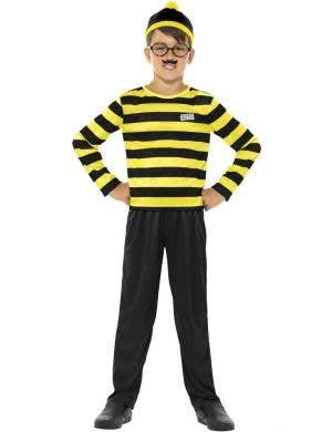 Where's Wally Boys Odlaw Fancy Dress Costume