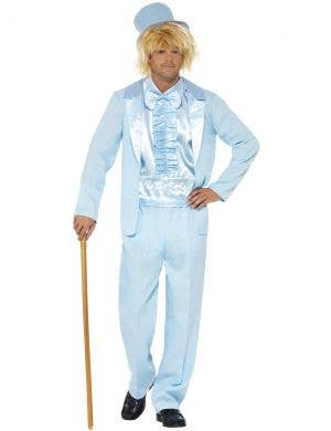 1990's Dumb and Dumber Men's Blue Tuxedo Costume