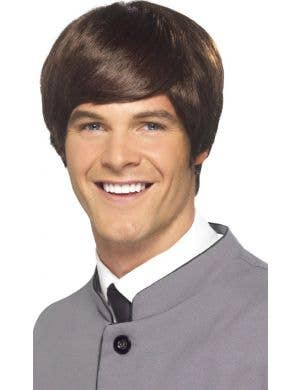 Mod Male 60's Brown Men's Beatles Wig