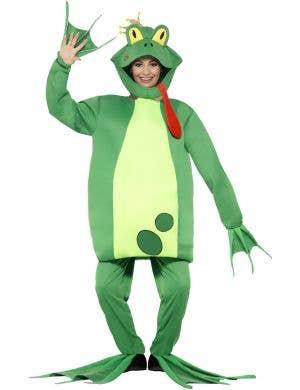 Storybook Fairy Tale Green Frog Prince Book Week Costume Main Image