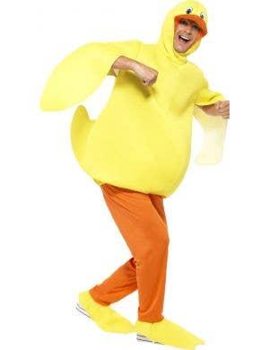 Fun Yellow Duck Adult's Fancy Dress Costume