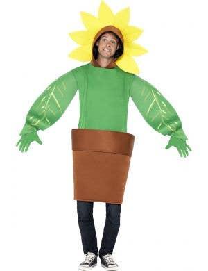Garden Sunflower Adults Fancy Dress Costume Main