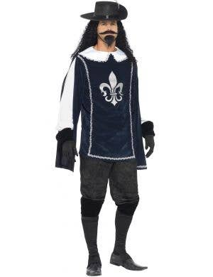 Musketeer Men's French Fancy Dress Costume