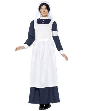 Women's Vintage World War 1 Nurse Costume Main Image