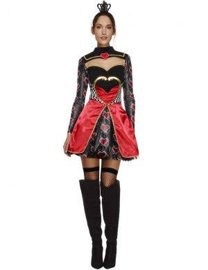 Fever Queen Of Hearts Sexy Women's Costume