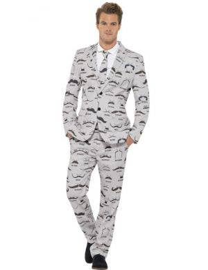 Moustache Men's Stand Out Suit