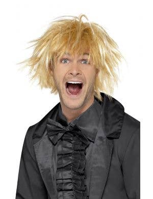 Messy Surfer Guy Blonde Costume Wig for Men, Dumb and Dumber Wig