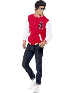 College Jock Letterman Jacket Men's 1950's Costume Jacket