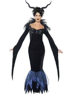 Women's Maleficent Halloween Costume Main Image