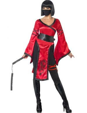 Shadow Warrior Women's Ninja Assassin Costume