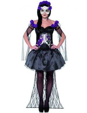 Señorita Women's Day Of The Dead Halloween Costume