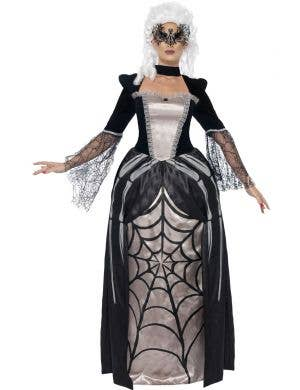 Spider Baroness Women's Baroque Halloween Costume Main Image