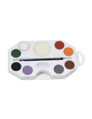 Greasepaint Halloween 8 Colour Face Paint Palette Main Image