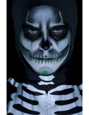 Glow In The Dark Skeleton Greasepaint Makeup Kit