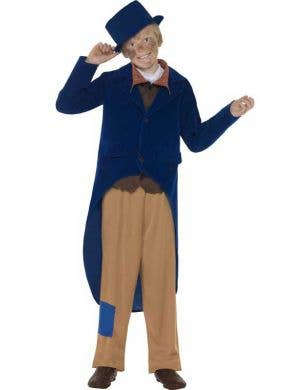 Victorian Boy's Oliver Twist Book Week Costume Front View