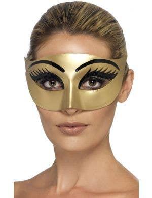 Evil Gold Cleopatra Masquerade Mask