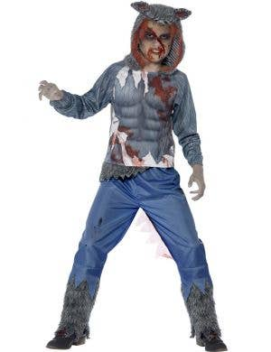Werewolf Boy's Halloween Dress Up Costume Front View