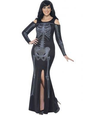 Gothic Skeleton Women's Plus Size Halloween Costume