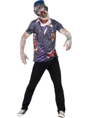 Zombie Schoolboy Men's Halloween Costume front