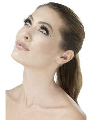 Wispy Women's Black Costume Eyelashes Main Image
