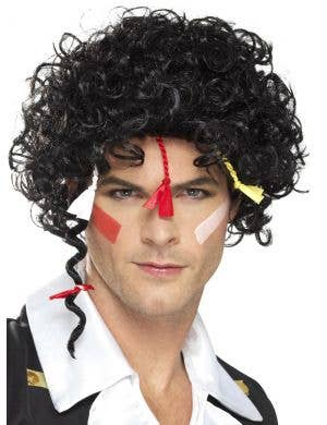 80's New Romantic Men's Adam Ant Costume Wig