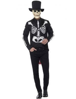 Day Of The Dead Men's Senor Skeleton Costume