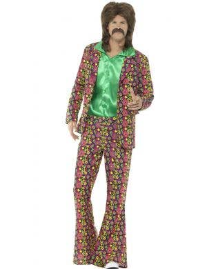 Psychedelic Men's 1960's CND Suit Retro Costume