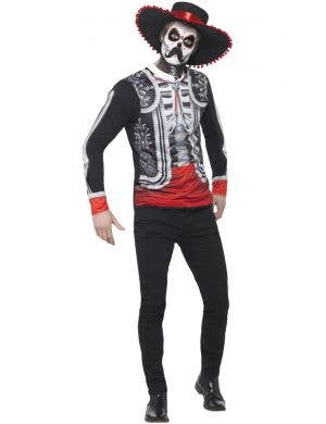 Day Of The Dead Men's El Senor Fancy Dress Costume