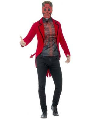 Day Of The Dead Devil Men's Halloween Costume