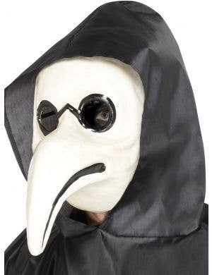 Authentic White Plague Doctor Halloween Mask