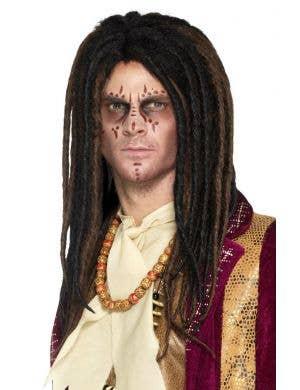 Voodoo Dreadlock Mens Deluxe Wig