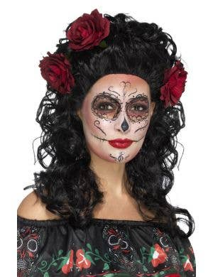 Day of the Dead Women's Deluxe Wig