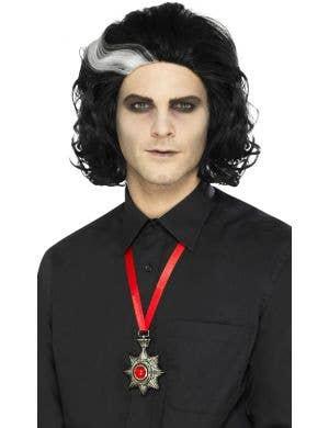 Vampire Deluxe Metal Medallion Necklace