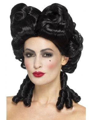 Gothic Black Baroque Women's Costume Wig