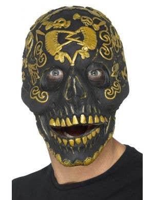 Skeleton Print Foam Latex Mask