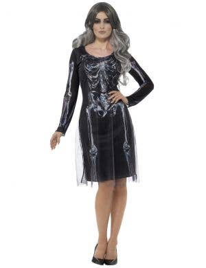 Lady Skeleton Women's Halloween Costume