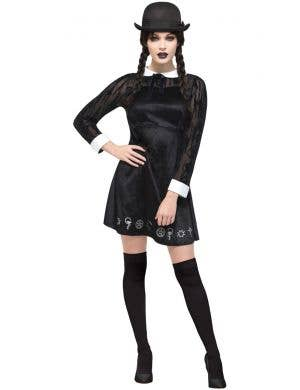Gothic School Girl Women's Deluxe Halloween Costume