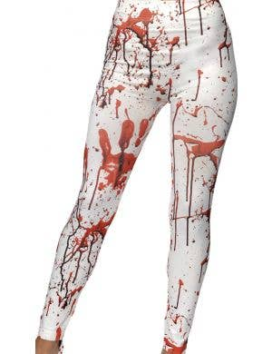 Women's Blood Splattered Zombie Costume Leggings