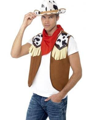 Western Cowboy Men's Costume Kit