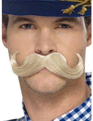 Authentic Bavarian Oktoberfest Men's Blonde Moustache