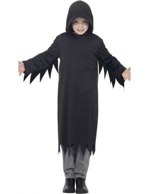 Dark Reaper Boy's Halloween Fancy Dress Costume